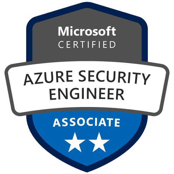 Azure Security Engineer associate logo