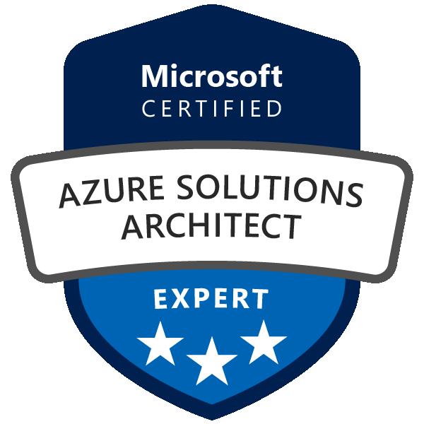 Azure Solutions Architect Expert logo