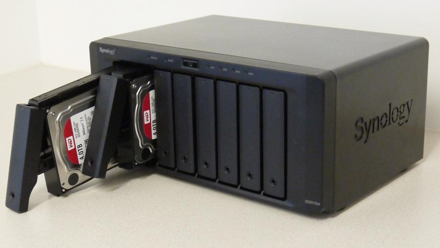 Imagen de una NAS (Network Access Storage)